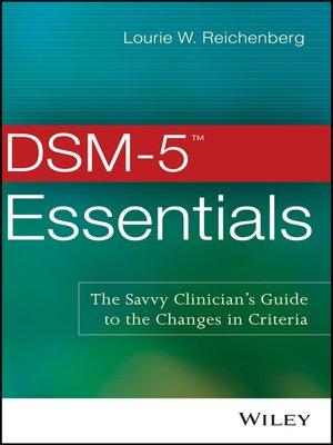 cover image of DSM-5 Essentials