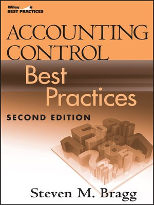 cover image of Accounting Control Best Practices
