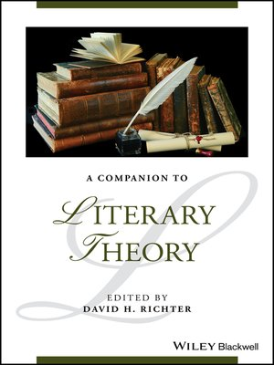 cover image of A Companion to Literary Theory