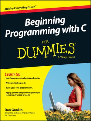 cover image of Beginning Programming with C For Dummies