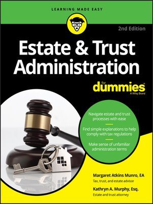 estate and trust administration for dummies pdf
