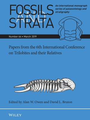 cover image of Papers from the 6th International Conference on Trilobites and their Relatives