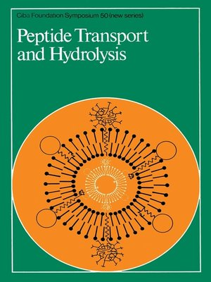 cover image of Peptide Transport and Hydrolysis