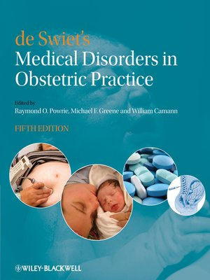 cover image of de Swiet's Medical Disorders in Obstetric Practice