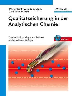 cover image of Qualitätssicherung in der Analytischen Chemie
