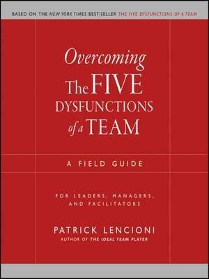 cover image of Overcoming the Five Dysfunctions of a Team