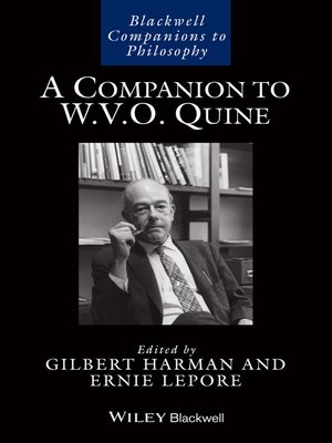 cover image of A Companion to W. V. O. Quine