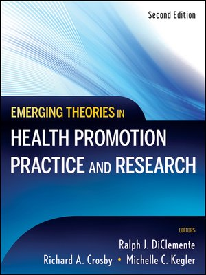cover image of Emerging Theories in Health Promotion Practice and Research