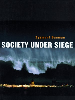 cover image of Society under Siege
