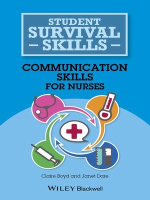 cover image of Communication Skills for Nurses