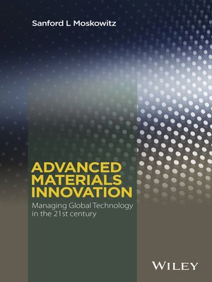 cover image of Advanced Materials Innovation