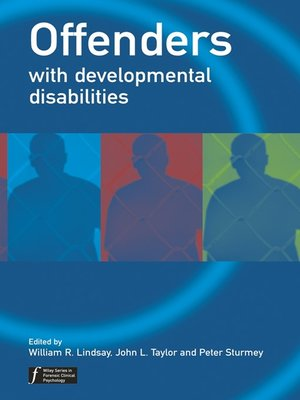cover image of Offenders with Developmental Disabilities