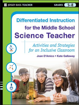 cover image of Differentiated Instruction for the Middle School Science Teacher