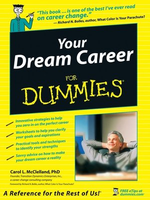 cover image of Your Dream Career For Dummies
