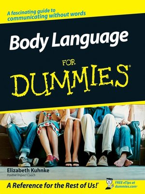 cover image of Body Language For Dummies