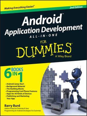 cover image of Android Application Development All-in-One for Dummies