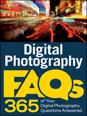 cover image of Digital Photography FAQs