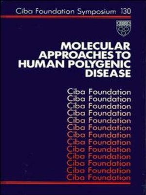 cover image of Molecular Approaches to Human Polygenic Disease