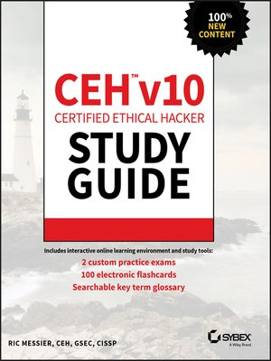 cover image of CEH v10 Certified Ethical Hacker Study Guide