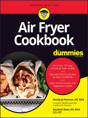 cover image of Air Fryer Cookbook For Dummies