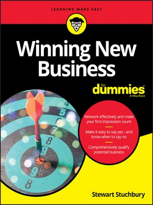 cover image of Winning New Business For Dummies