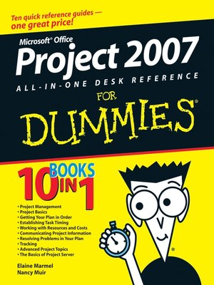 cover image of Microsoft Office Project 2007 All-in-One Desk Reference For Dummies