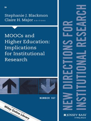 cover image of MOOCs and Higher Education
