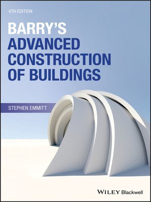 cover image of Barry's Advanced Construction of Buildings