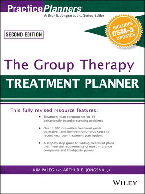 cover image of The Group Therapy Treatment Planner, with DSM-5 Updates