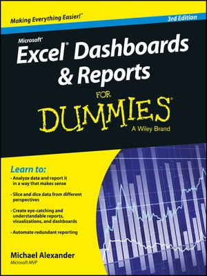 cover image of Excel Dashboards and Reports for Dummies