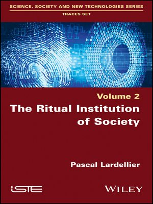 cover image of The Ritual Institution of Society