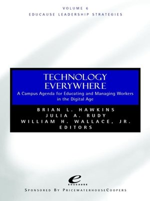 cover image of Educause Leadership Strategies, Technology Everywhere