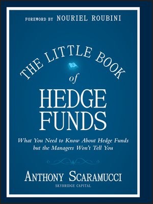 cover image of The Little Book of Hedge Funds