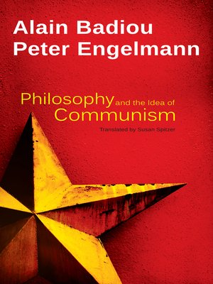 cover image of Philosophy and the Idea of Communism