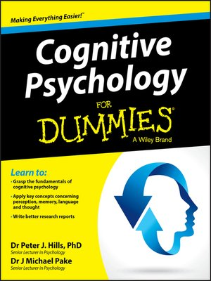 cover image of Cognitive Psychology For Dummies
