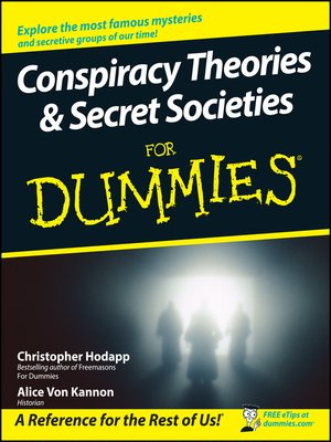 cover image of Conspiracy Theories & Secret Societies For Dummies®