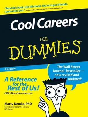 cover image of Cool Careers For Dummies