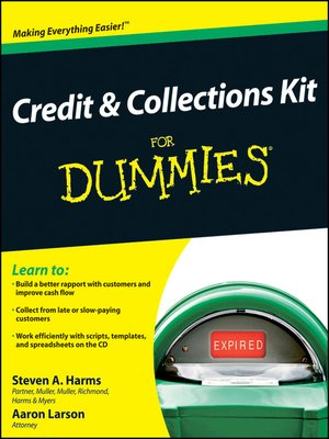 cover image of Credit and Collections Kit For Dummies