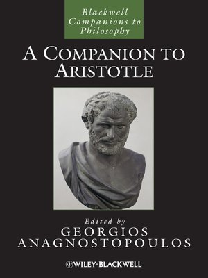 cover image of A Companion to Aristotle