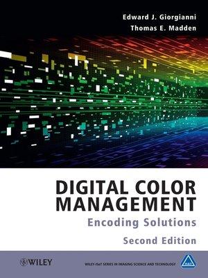 cover image of Digital Color Management