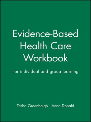 cover image of Evidence-Based Health Care Workbook