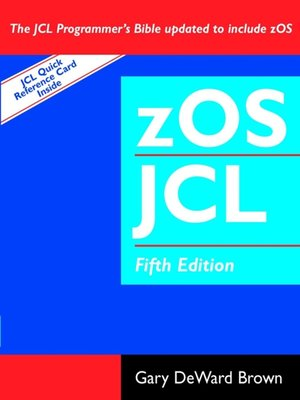 cover image of zOS JCL (Job Control Language)