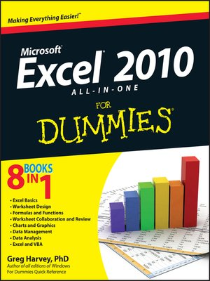 cover image of Excel 2010 All-in-One For Dummies