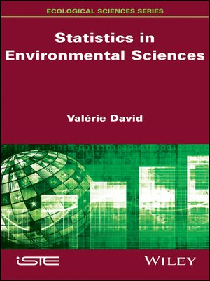 cover image of Statistics in Environmental Sciences