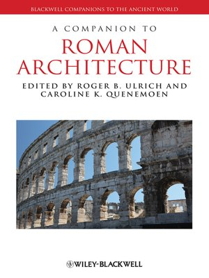 cover image of A Companion to Roman Architecture