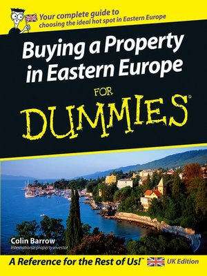 cover image of Buying a Property in Eastern Europe For Dummies