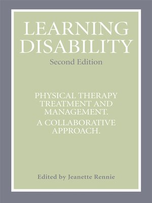 cover image of Learning Disability