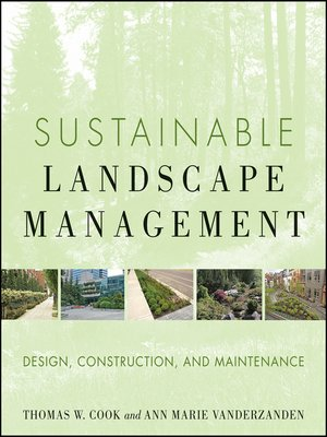 cover image of Sustainable Landscape Management