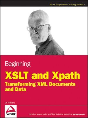 cover image of Beginning XSLT and XPath