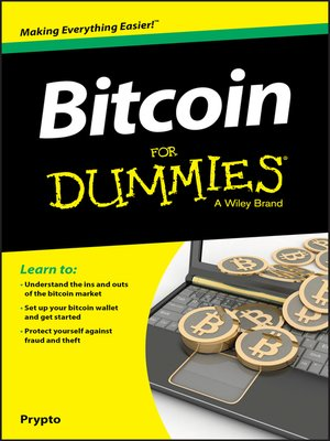 cover image of Bitcoin For Dummies